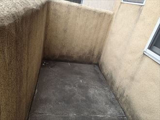 バルコニー防水の外壁