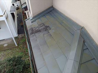 北側屋根カバー工事済み