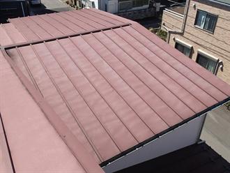緩勾配屋根に多く使用される瓦棒