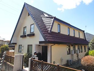 屋根外壁塗り替え完工
