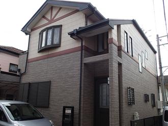 千葉市稲毛区天台の住宅塗装前点検