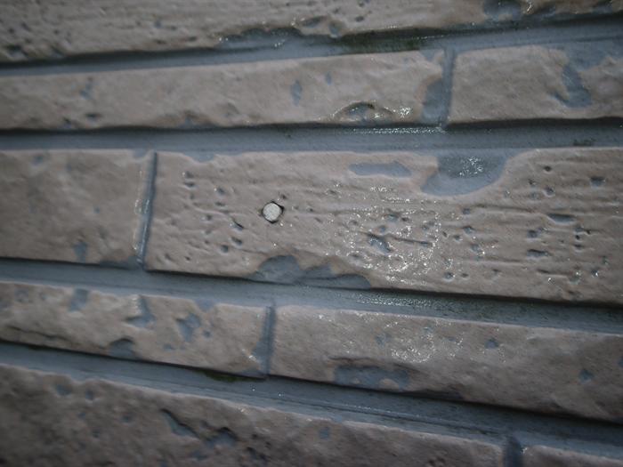 クリアー塗装の痕跡