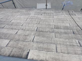 スレート屋根の乾燥