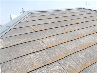スレート屋根塗装前点検