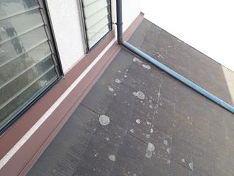 1階屋根の様子