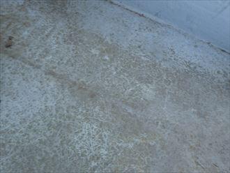 木更津市 表層の色褪せ