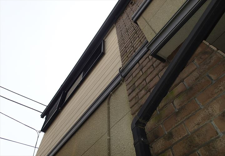 チョーキングの発生しているお住いの外壁