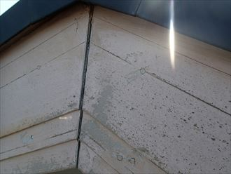 破風板,塗膜の剥がれ