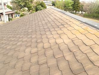 カラーベスト屋根塗装前点検