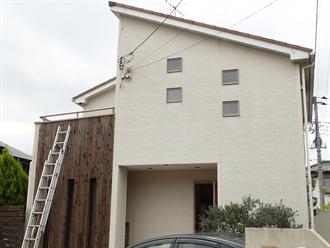 千葉市花見川区こてはし台での屋根外壁塗装工事