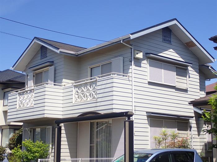 千葉市若葉区御成台の外壁塗装前点検