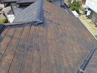 築27年2回目の屋根塗装メンテナンス