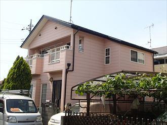 四街道市下志津新田の住宅塗装点検