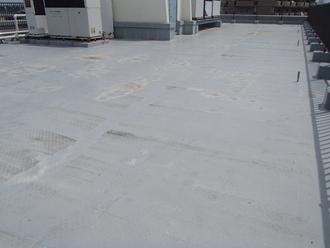 千葉市中央区都町にて屋上防水の調査、万能なウレタン塗膜防水工事