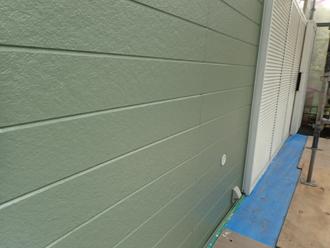 パーフェクトトップ モスグリーンで中塗り・上塗り
