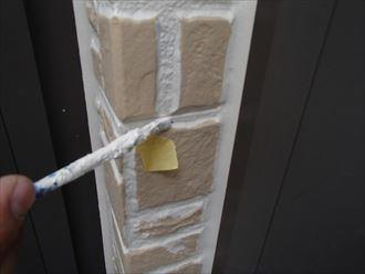 外壁塗装後のタッチアップ
