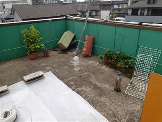 屋上防水点検