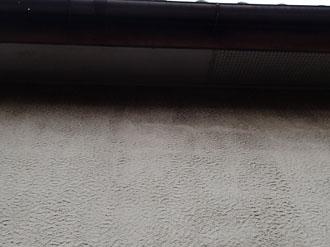 モルタル外壁に汚れ・カビ