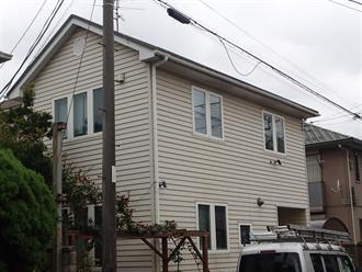千葉市稲毛区緑町の屋根外壁塗装前点検