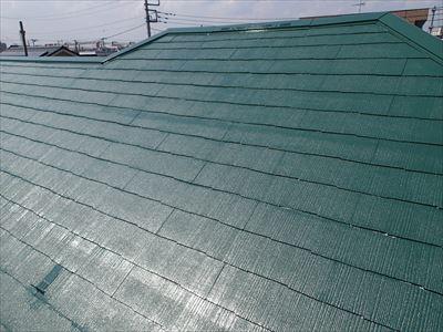 スレート屋根,クールグリーン