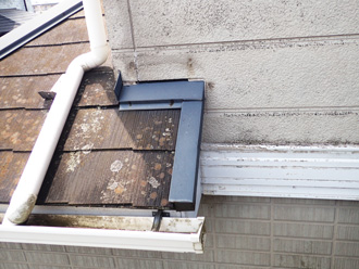 サイディング外壁の塗膜劣化