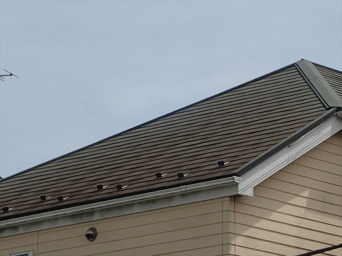 強風時の屋根点検