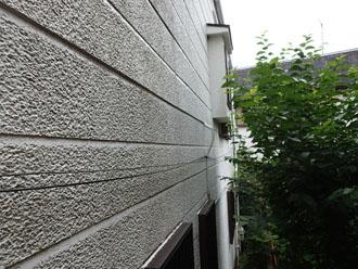 窯業サイディング外壁の汚れ