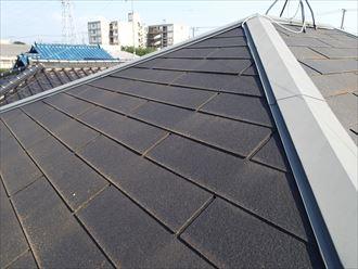 屋根塗装前のスレート