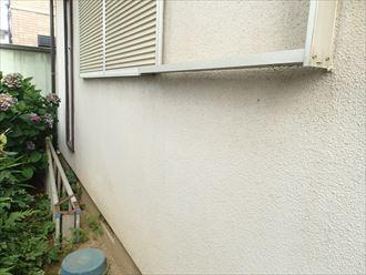 富津市 外壁塗装調査