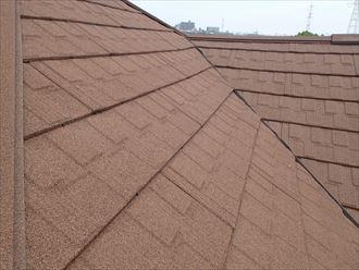 屋根カバー工法の状態