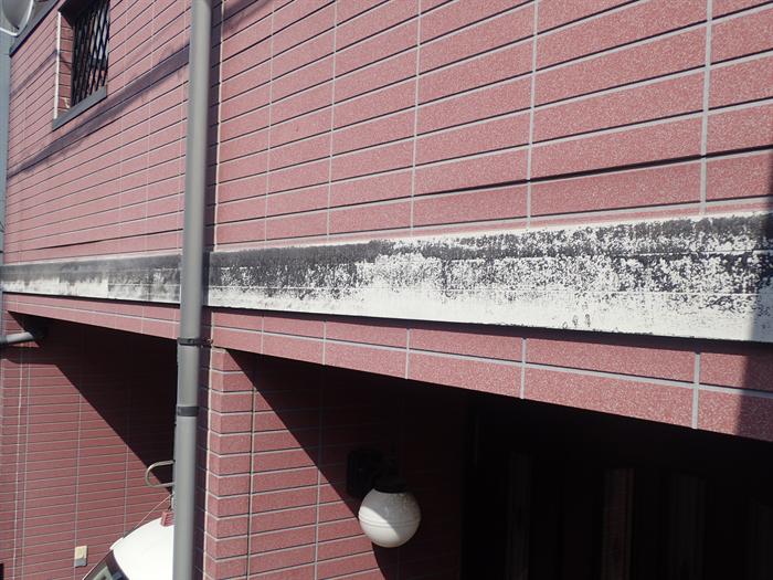 幕板の塗膜劣化