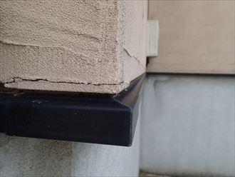 袖ケ浦市長浦 外壁に出来た亀裂