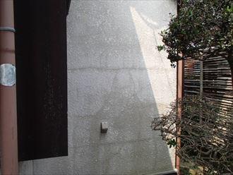 築30年のモルタル壁