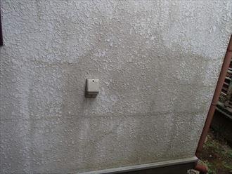 モルタル壁