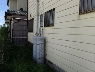 外壁塗装う前のサイディング外壁