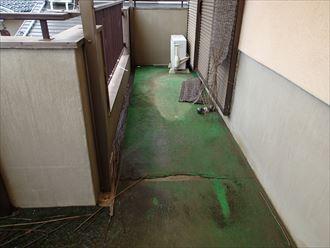 ベランダ防水からの雨漏り