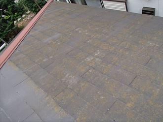 スレート屋根の経年劣化