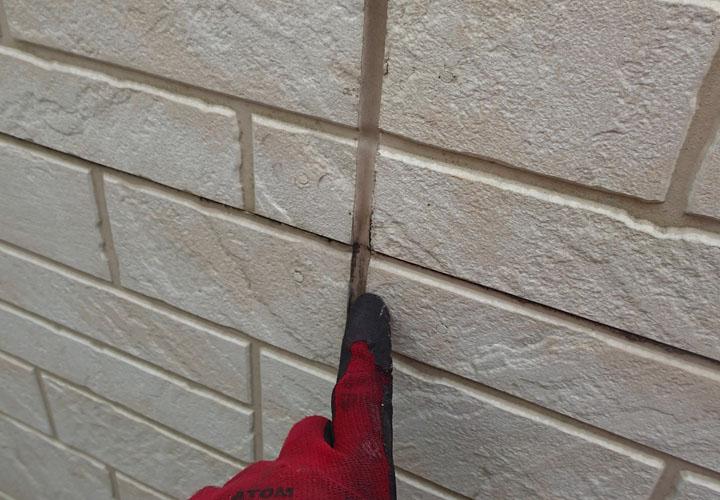 外壁目地のシーリング 劣化