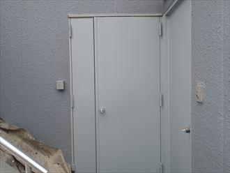 玄関ドア仕上がり