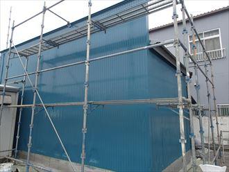 倉庫塗装完了