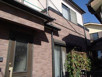 千葉市花見川区作新台で外壁塗装前点検