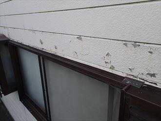 富津市青木 外壁の剥がれ調査