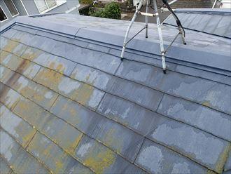 八千代市萱田町 塗料の防水性能の低下