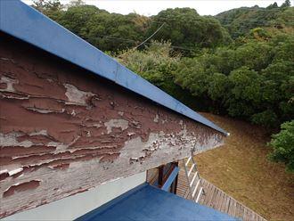 木更津市 破風板の状態