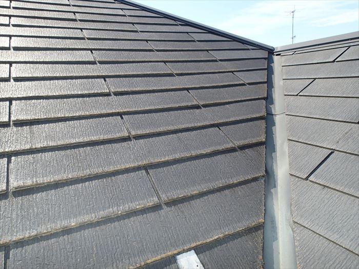 スレート屋根の剥がれ点検