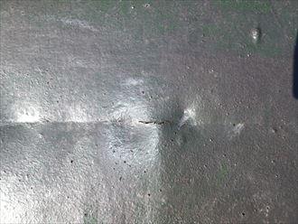 茂原市高師 防水層の劣化