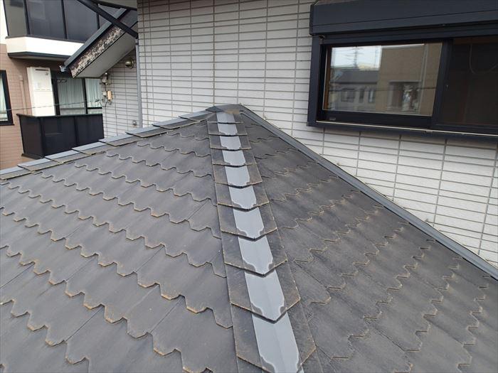 千葉市中央区のスレート屋根