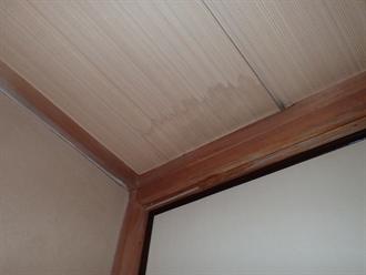 室内への雨漏り