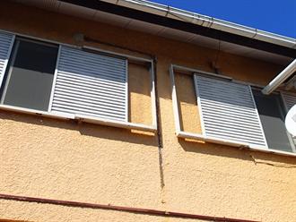 モルタル外壁の塗装前点検