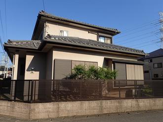 千葉市中央区仁戸名町の外壁塗装前点検